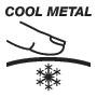 Холодная металлическая поверхность