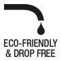 Eco-friendly & drop free dosage